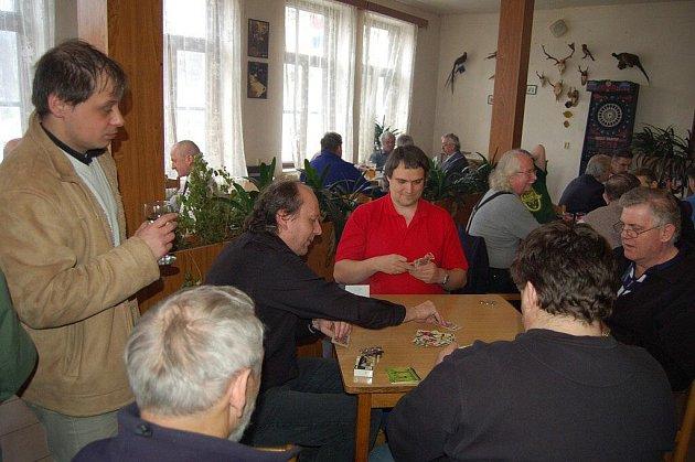 Mariášový turnaj ve Žluticích