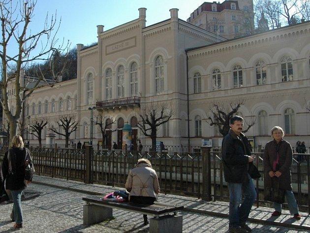 Lázně III v Karlových Varech.