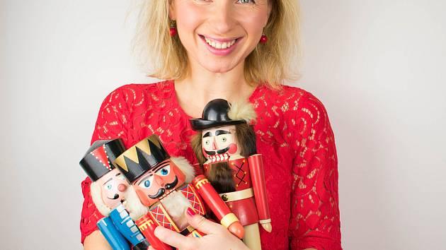 Organizátorka Vintage Bazárku Anastasia Zubareva.