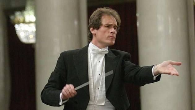Šéfdirigent Karlovarského symfonického orchestru Martin Lebel.