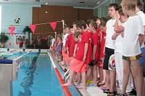 Mistrovství republiky mladých vodních záchranářů.