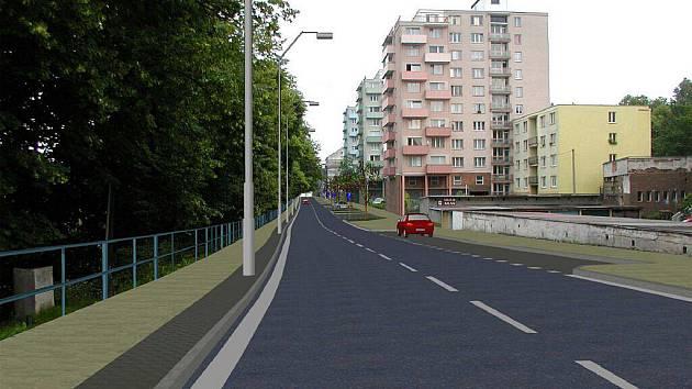 Karlovy Vary - rekonstrukce ulic Vítězná, Drahomířino a Mattoniho nábřeží