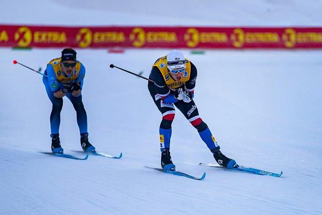 Michal Novák, český reprezentant vběhu na lyžích.