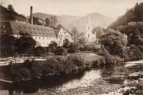 STARÝ MĚŠŤANSKÝ PIVOVAR stával 161 let na místě, kde jsou dnes Císařské lázně. Právě kvůli jejich stavbě musel být zbourán.