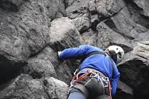 Unikátní horolezecká stěna zahájila zkušební provoz