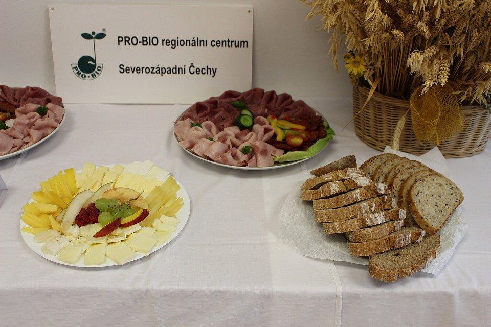 Z vyhlášení cen Regionální potravina 2016 v Karlovarském kraji.