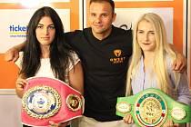 SVÉ TITULY tu budou obhajovat evropská šampionka Lucie Sedláčková (vlevo) spolu s mistrem Evropy Štěpánem Horváthem a juniorskou mistryní světa Fabianou Bytyqui.