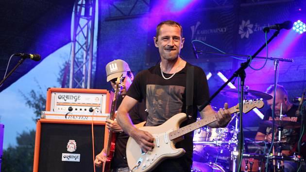 Kapela Wohnout, která koncertovala už podruhé na festivalu Rock In Roll...