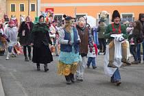 Krušnohorský masopust v Hroznětíně