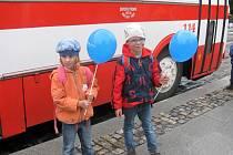 Na Karlovarsku se 7. září konal velký Regionální den železnice. U této příležitosti vyjela na trať i parní mašina Šlechtična.