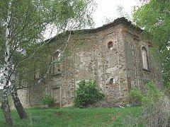 Poutní kostel sv. Blažeje v Nežichově.