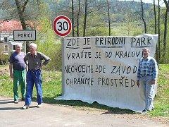 Protest  proti závodu