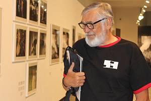 Z tiskové konference s pořadateli Mezinárodního filmového festivalu a zahájení festivalové výstavy.