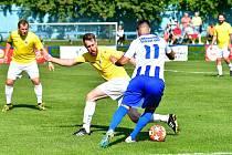 Karlovarská Lokomotiva nestačila na Františkovy Lázně, prohrála 0:2.