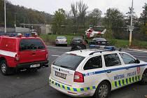 Strážníci městské policie pomáhají i při záchranných akcích.