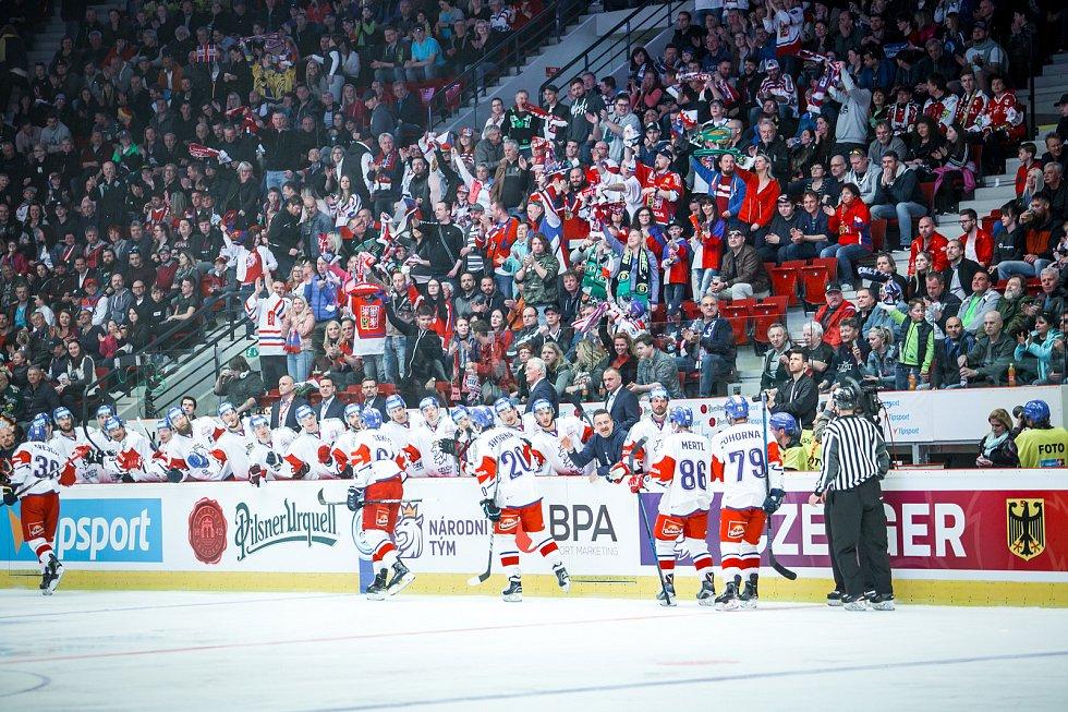1. utkání Česko - Německo v Karlových Varech