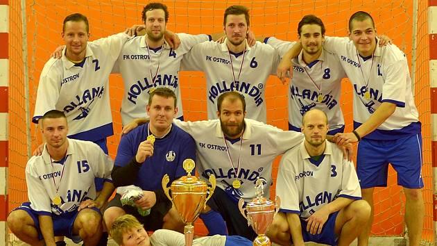Ostrovský FK vyplenil hlavní město, ovládl futsalový Praga Cup!