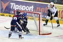 Bílí Tygři sehráli na domácím ledě hokejové utkání s Karlovými Vary.