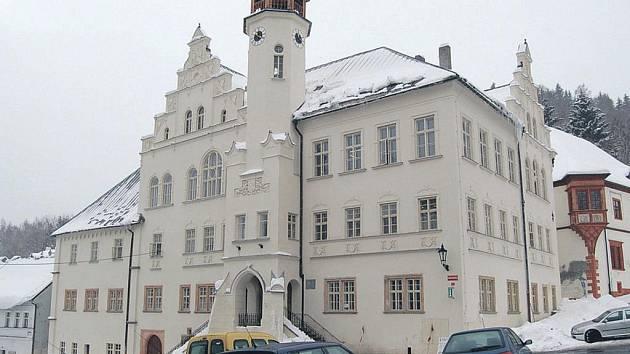 Jáchymovská radnice.