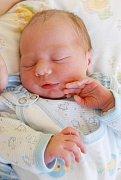 Míša Strnad ze Sokolova se narodil 13. 10. 2011