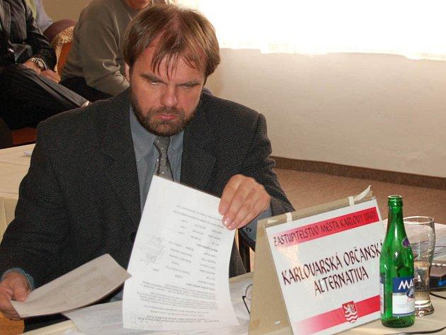 Nový ředitel ostrovské průmyslové školy Pavel Žemlička.