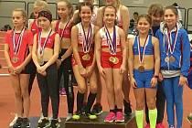31 medailí vybojovala atletická výprava SC Start Karlovy Vary na víkendovém mistrovství Karlovarského kraje.