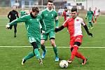 Karlovarská Slavia si připsala na konto druhou výhru v rámci zimní přípravy, když pokořila nejdříve divizní Ostrov vysoko 8:1 a posléze i Tatran Rakovník 4:2.