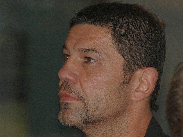 Richard Žemlička, trenér HC Energie.