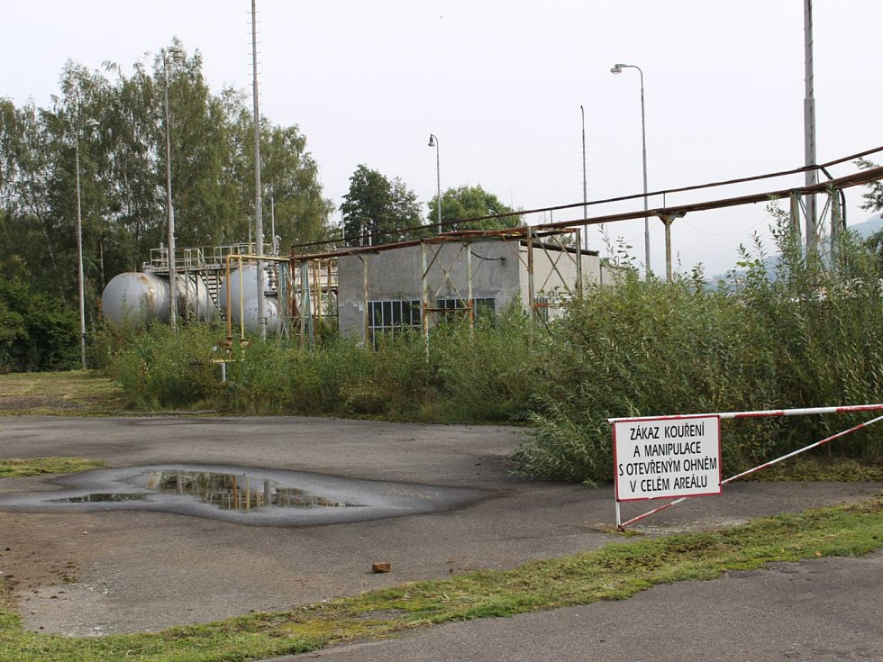 Areál tuhnické plynárny
