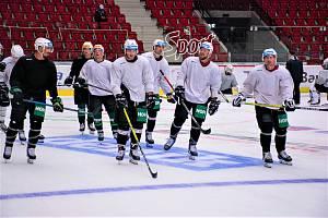 Hokejisté Energie vyjeli poprvé na led