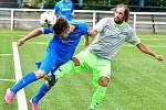 Sedlec neuspěl ani ve fotbalovém azylu, když na umělce v Drahovicích nestačil na Loko Mariánské Lázně.