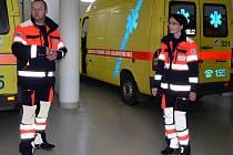 Nové uniformy Zdravotnické záchranné služby Karlovarského kraje