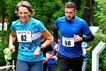Náročná trasa  lázeňským centrem o délce 6,4 km čekala na 202 běžců, kteří se postavili na start osmého ročníku.