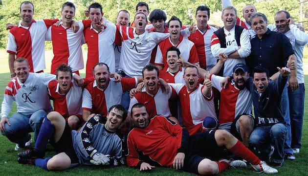 Nováček okresního fotbalového přeboru 2008/2009 – Zřídla Kyselka.