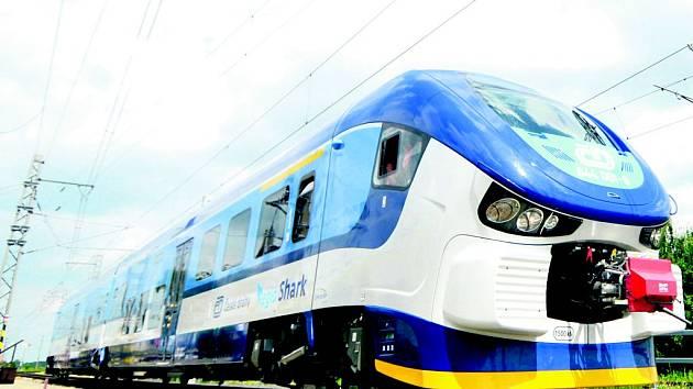 Vlak pro regionální dopravu RegioShark.
