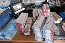 Celníci zabavili na 40 tisíc neoznačených cigaret
