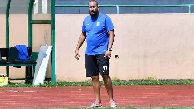 Jiří Štěpán, trenér FK Baník Sokolov