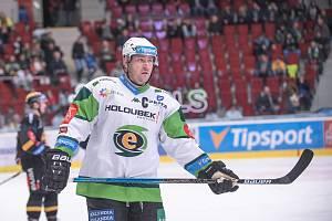 Utkání 4. kola skupiny o udržení hokejové Tipsport extraligy HC Energie Karlovy Vary - HC Verva Litvínov