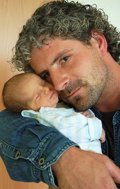 Jiřík Prokůpek z Karlových Varů se narodil 4. 9. 2012