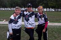 Mistrovství mladých lukostřelců v Chebu.
