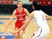 Basketbalistky české reprezentace podlehly Číně
