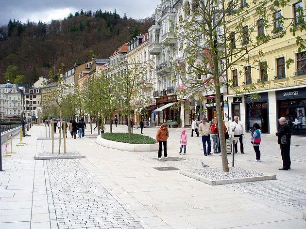 Karlovy Vary - revitalizace lázeňského území Tržiště - Stará Louka