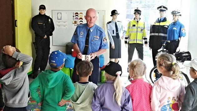 Karlovarská městská policie připravila zajímavou akci pro děti z mateřských škol.