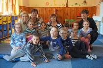 Námořnické vystoupení připravily děti z mateřské školy.