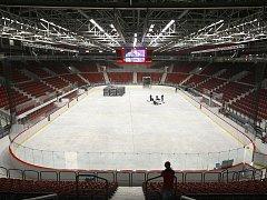 KV Arena poprvé přivítá fanoušky na hokejové extralize.