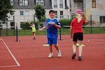 Příměstský sportovního tábor v Ostrově, který každý rok pořádá MDDM Ostrov.