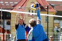 Na turnaji v Nejdku byl k vidění kvalitní volejbal.