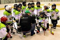 Hokejové naděje ve věku do osmi let z Karlovarského kraje sehrály turnaj v Ostrově.