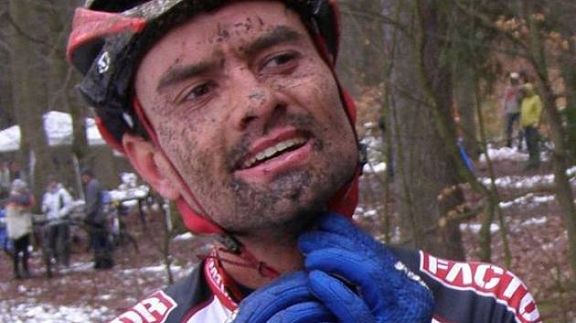 Stanislav Hejduk si v lázeňských lesích okolo Linhartu dojel pro vítězství.