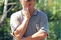 Týmu Buldoků se v posledních kolech ČFL nedařilo. Odvolaného Stanislava Purkarta (na snímku) nahradí Stanislav Procházka.